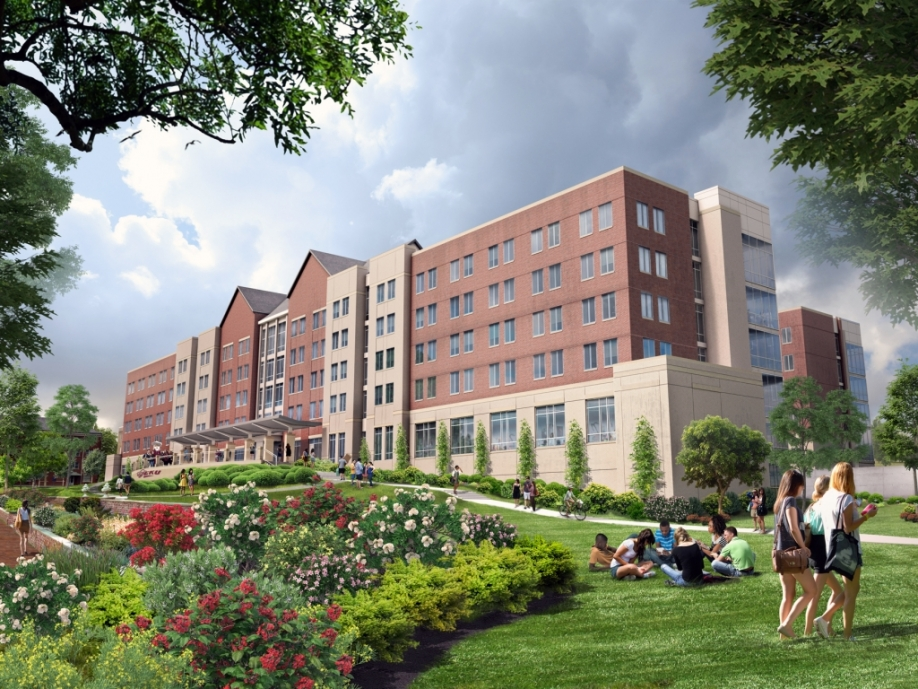 Rendering of New Martin Hall