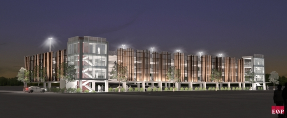 Parking Garage Rendering