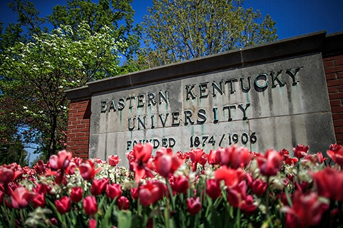 image of EKU sign
