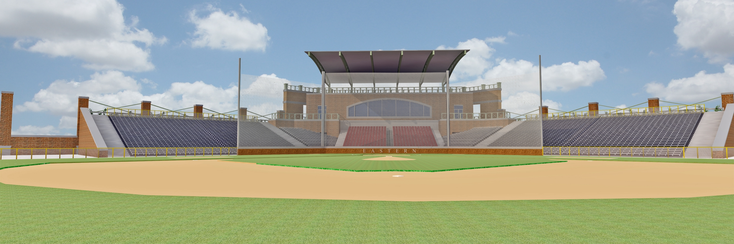 rendering of earl combs stadium