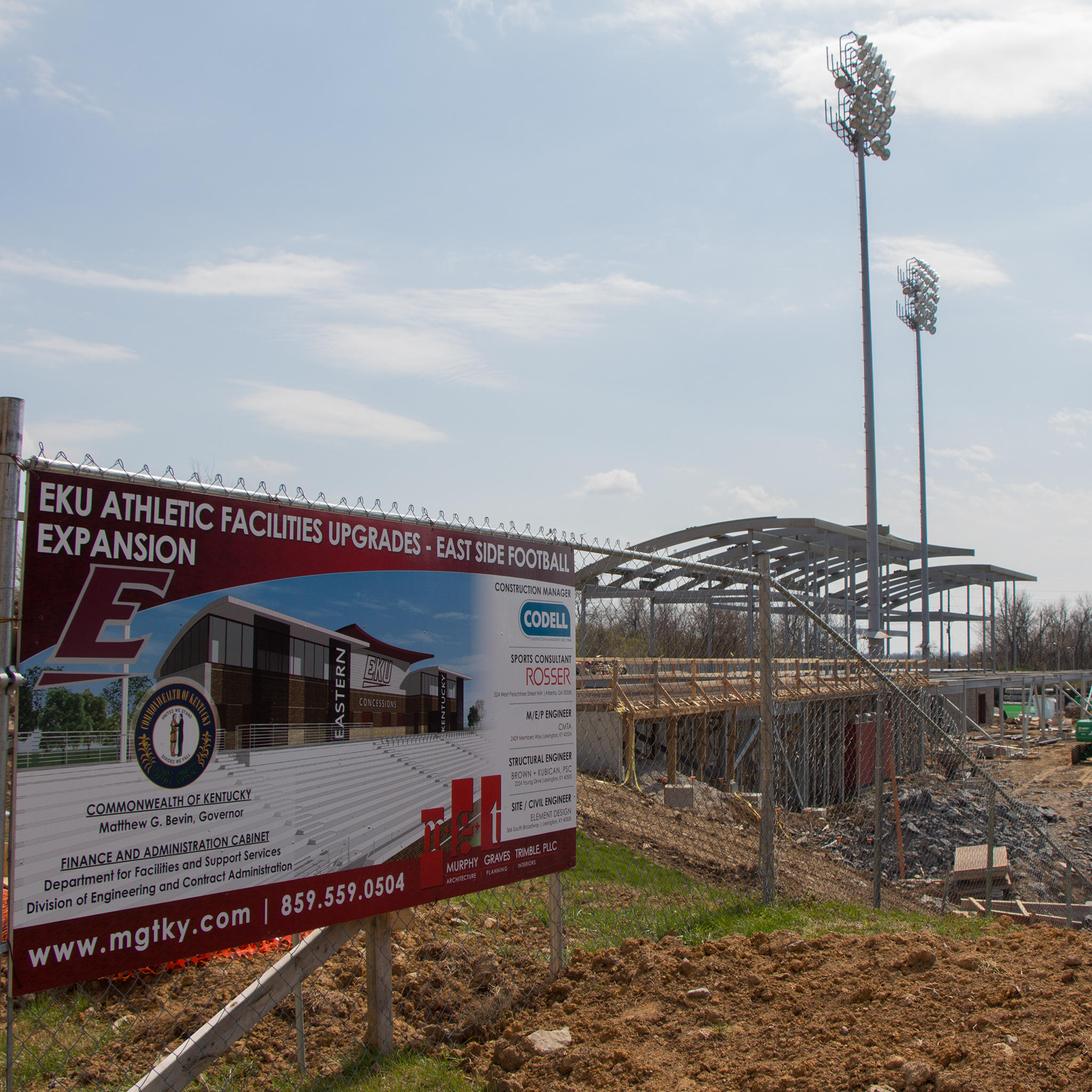 image of Roy Kidd Stadium Project