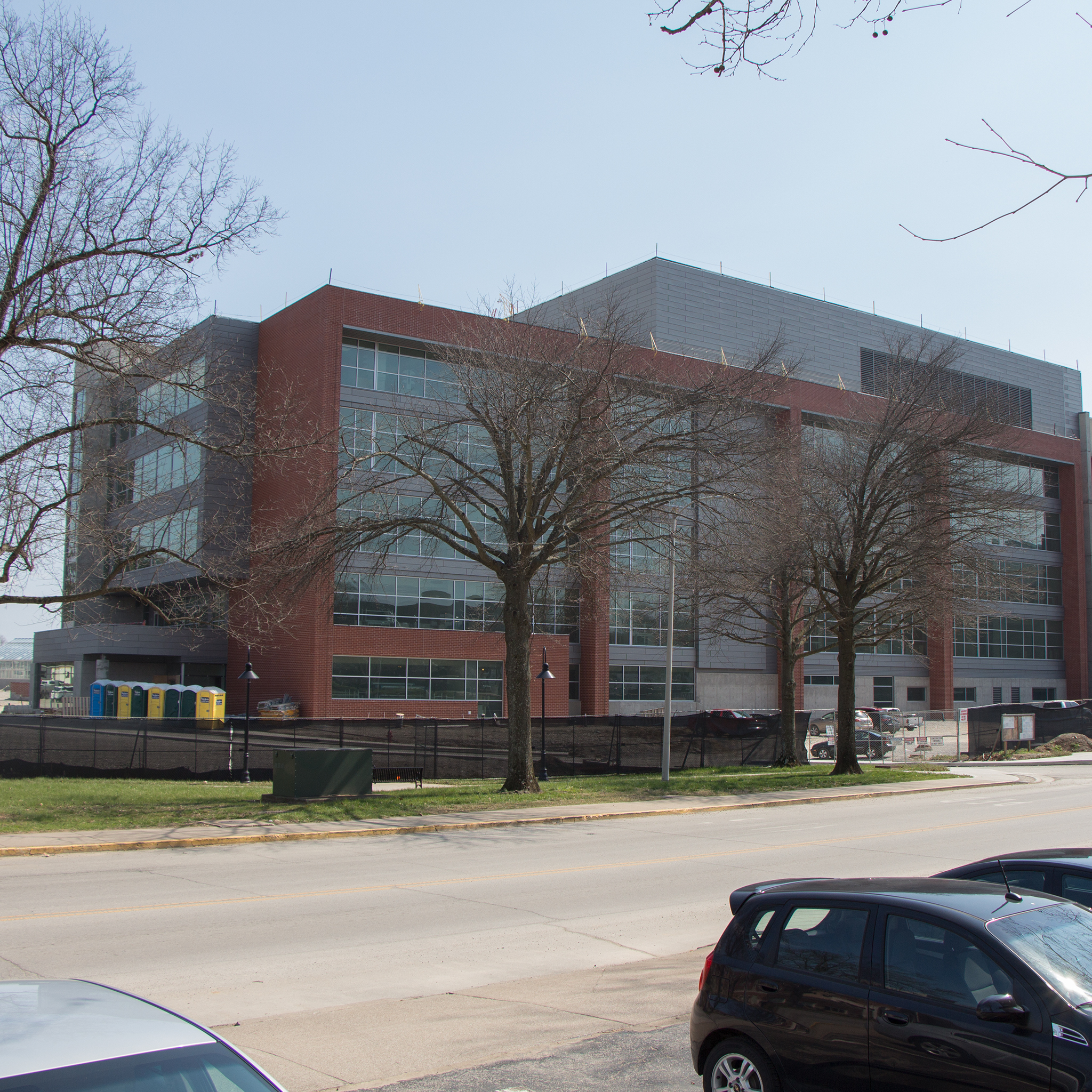 image of new science building